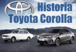 50 años del Toyota Corolla: esta es parte de su historia