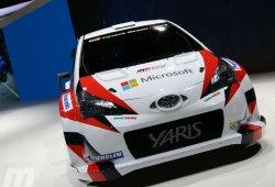 El Toyota Yaris WRC estrena colores y sponsors en París