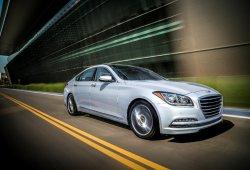 Estados Unidos - Agosto 2016: Genesis, la marca premium de Hyundai, hace su debut