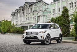 Rusia - Agosto 2016: Hyundai Creta, éxito inmediato