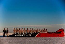 A casi 550 km/h: Venturi pulveriza el récord de velocidad para vehículos eléctricos