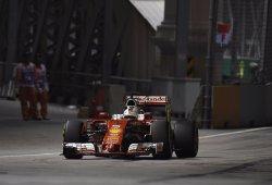 Vettel, eliminado en Q1 tras un fallo mecánico