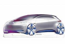 Volkswagen publica los primeros bocetos de su nuevo eléctrico
