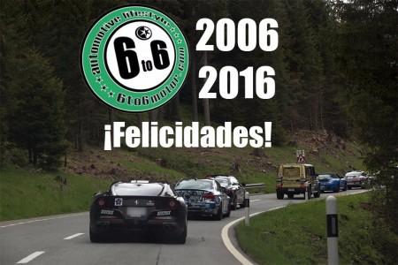 6to6 Motor está de aniversario: la comunidad de propietarios de deportivos más importante de España cumple 10 años