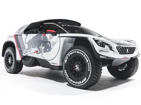 Peugeot Sport presenta el nuevo Peugeot 3008 DKR