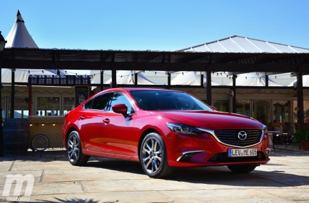 Prueba Mazda6 2017, alma renovada
