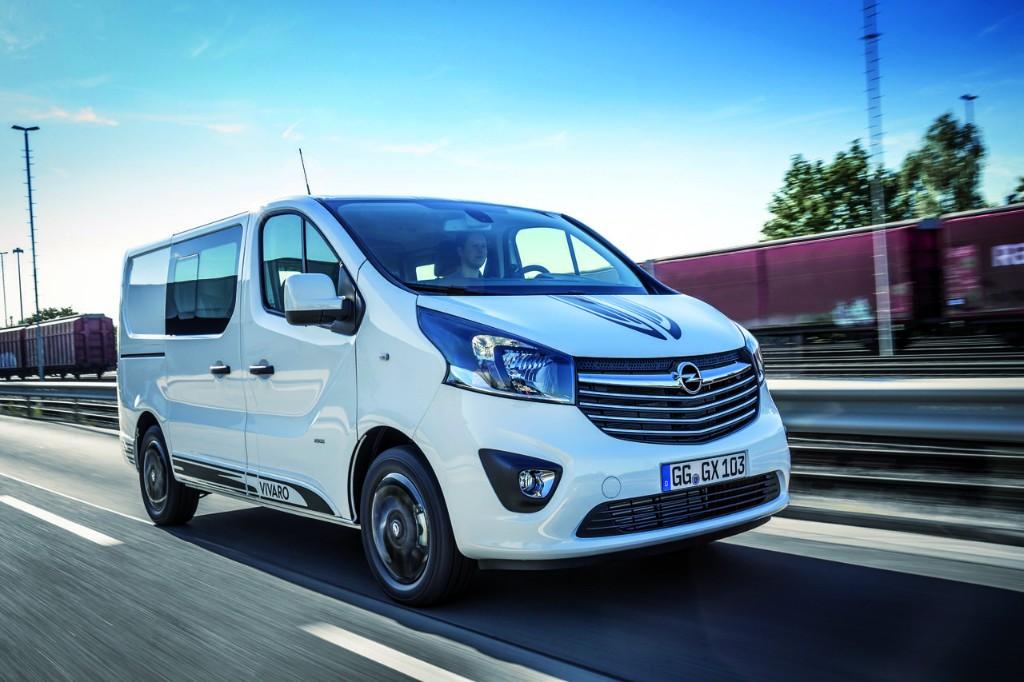 """Opel Vivaro Sport, la """"furgo"""" que no renuncia a un estilo deportivo"""