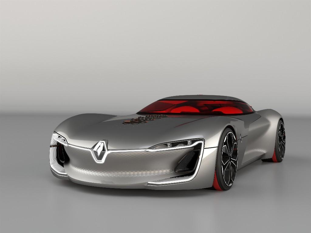 Renault TREZOR, el nuevo concept francés en formato GT eléctrico