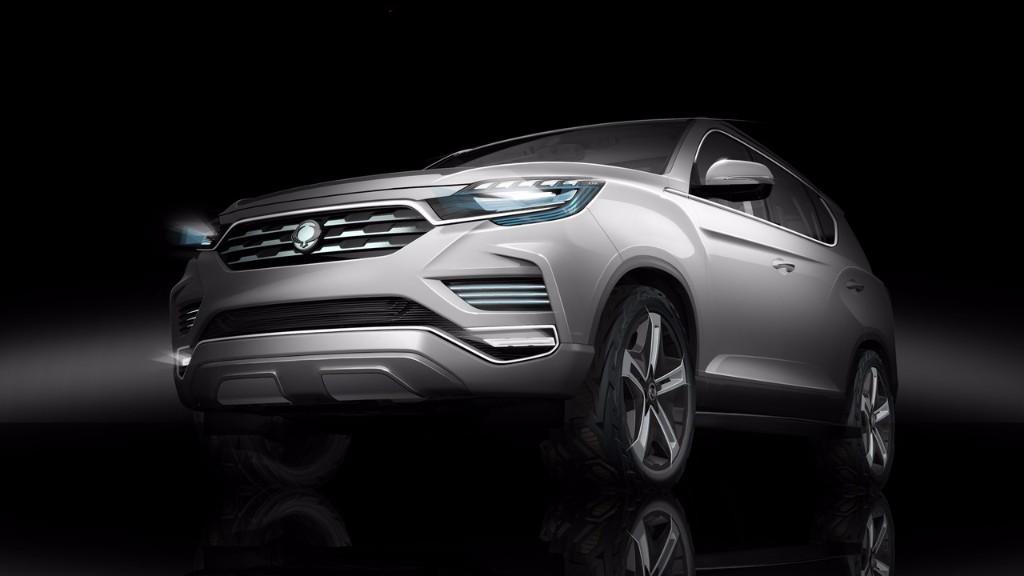 SsangYong LIV-2 SUV Concept, el adelanto del nuevo Rexton para París