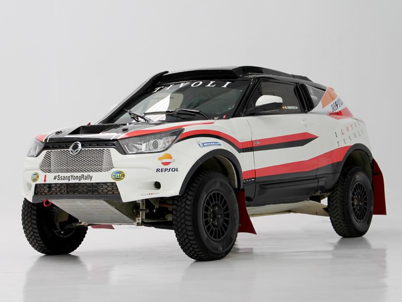 SsangYong Tivoli Rally Raid 4WD: El mejor ADN off-road