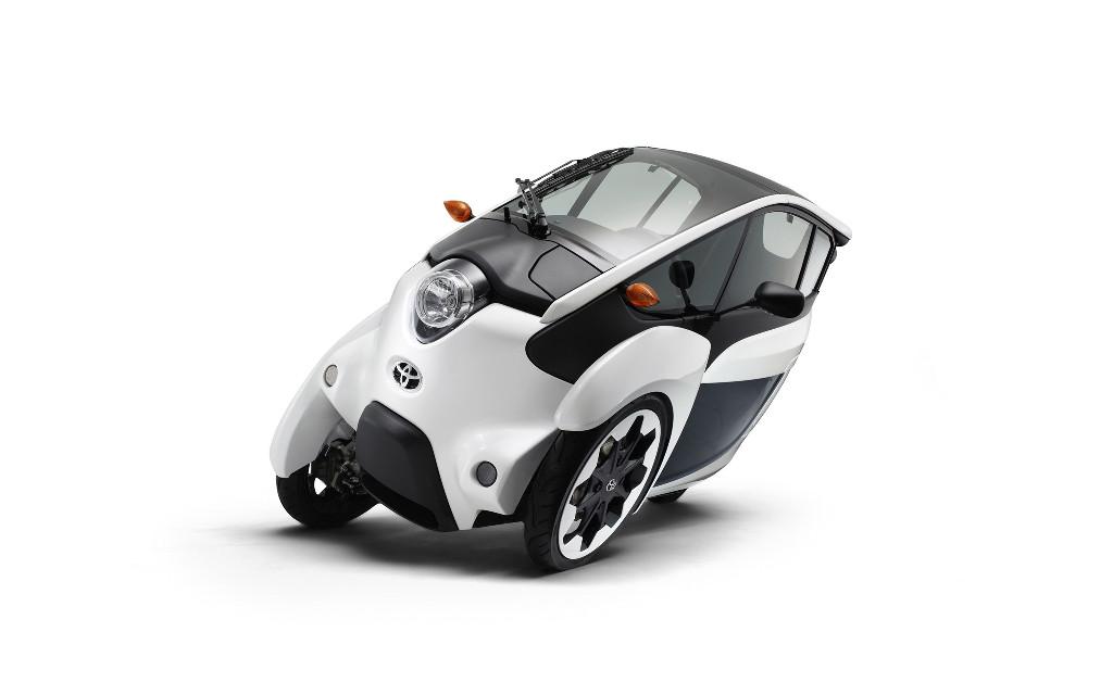 Toyota pone en marcha la segunda etapa del desarrollo del i-Road eléctrico