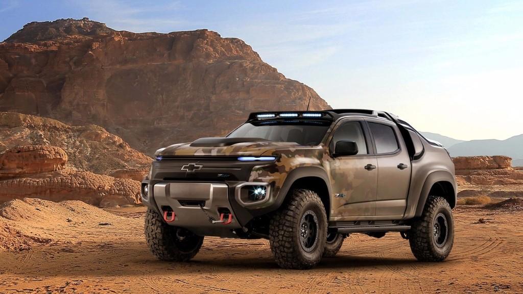 Chevrolet Colorado ZH2 es un todoterreno de hidrógeno idóneo para el ejército