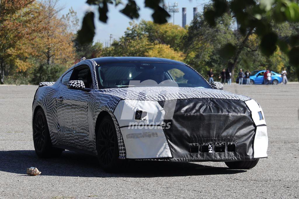 Cazado: Ford Mustang GT V8 2018