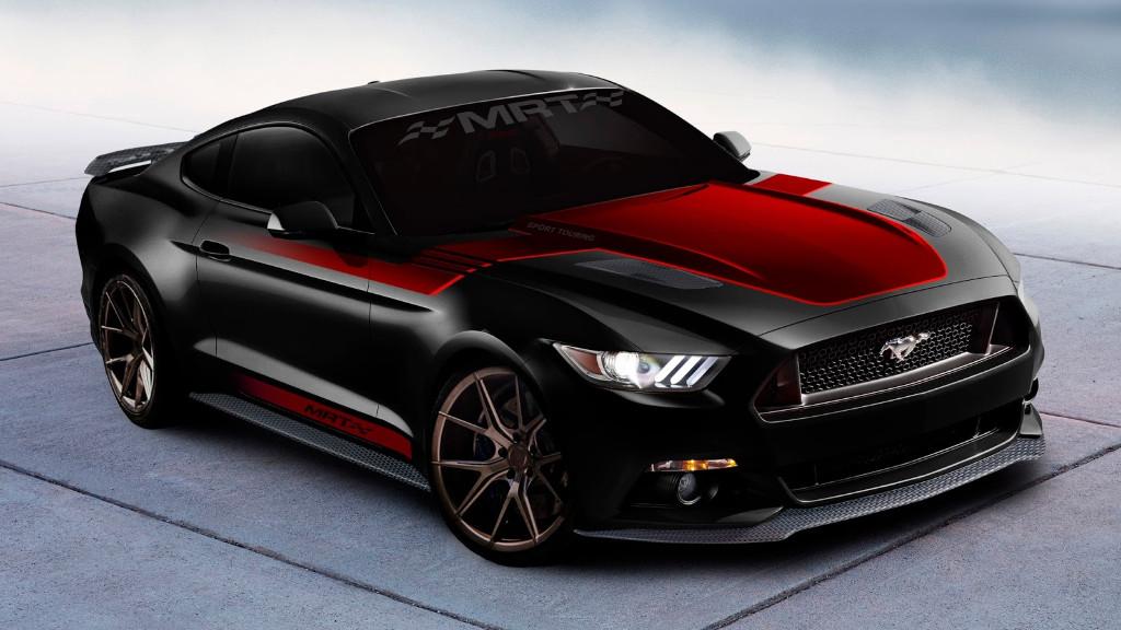 Varios Ford Mustang de más de 800 CV para el SEMA Show 2016