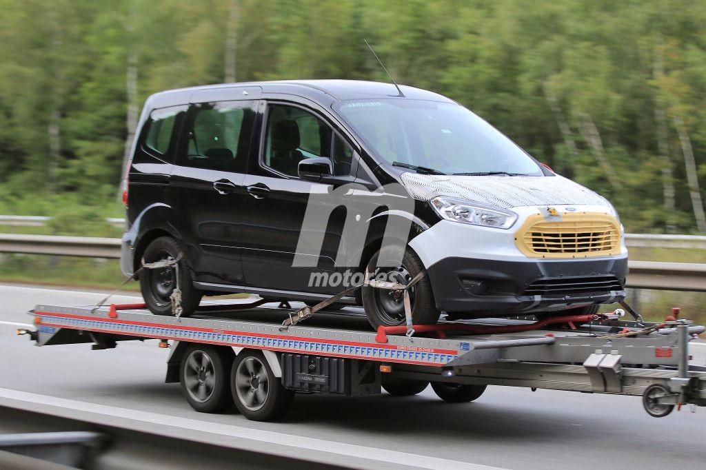 Ford Tourneo Courier 2018, porque los vehículos comerciales también se actualizan