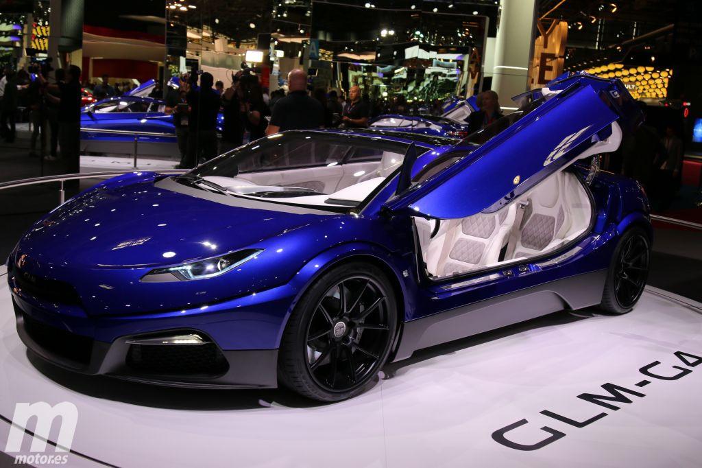 GLM G4 Super Sedan, el eléctrico japonés presentado en París 2016