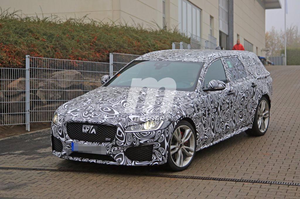 Jaguar XF Sportbrake 2017: cazada por primera vez la variante más familiar