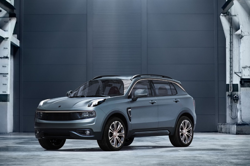 Lynk and Co 01 crossover, desarrollado por Volvo y fabricado en China