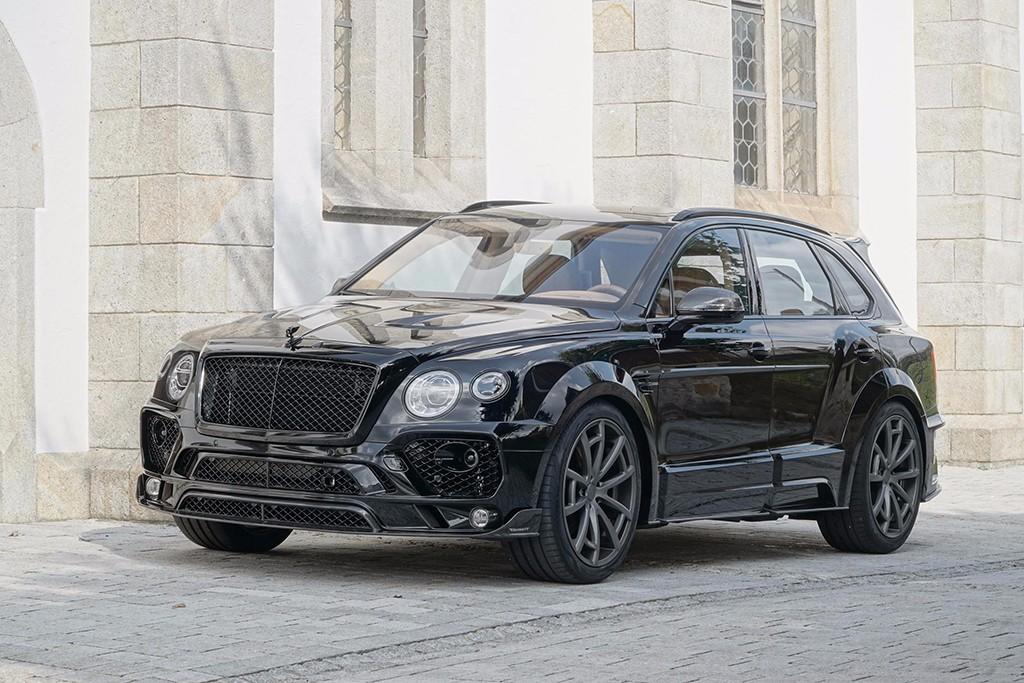 Mansory refina al Bentley Bentayga y aumenta su rendimiento