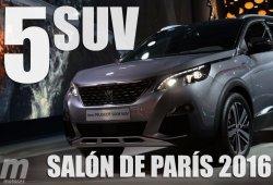 Los 5 mejores SUV del Salón de París 2016