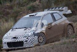 Accidentado test de Toyota y M-Sport en Barcelona