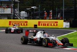 Haas y Grosjean, a la puerta de los puntos en Suzuka