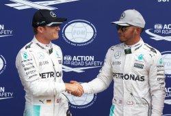 """Hamilton: """"Si gana Nico, lo asumiré como un hombre"""""""