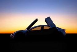 Henrik Fisker nos anticipa su rival para Telsa, un prototipo con puertas de mariposa