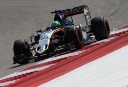 Nico Hülkenberg brilla ante un Sergio Pérez con problemas