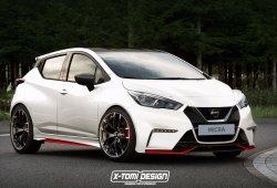 ¡Solo es una recreación, pero cómo nos gustaría ver este Nissan Micra Nismo!