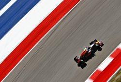 Prometedor ritmo de Red Bull en Austin