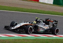Prometedor viernes de Force India en Japón