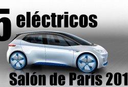 Top 5 coches eléctricos de París 2016