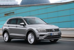 Francia - Septiembre 2016: Volkswagen Tiguan, de récord