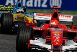 [Vídeo] GP Japón 2006: Schumacher, Alonso y la fuerza del sino