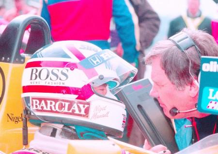 [Vídeo] GP Japón 1987: la segunda ocasión perdida de Nigel Mansell
