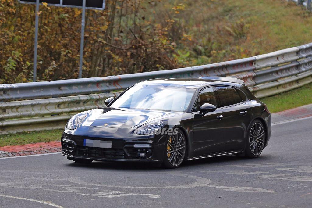 Porsche Panamera Shooting Brake, preparándose para destrozar el crono de Nürburgring
