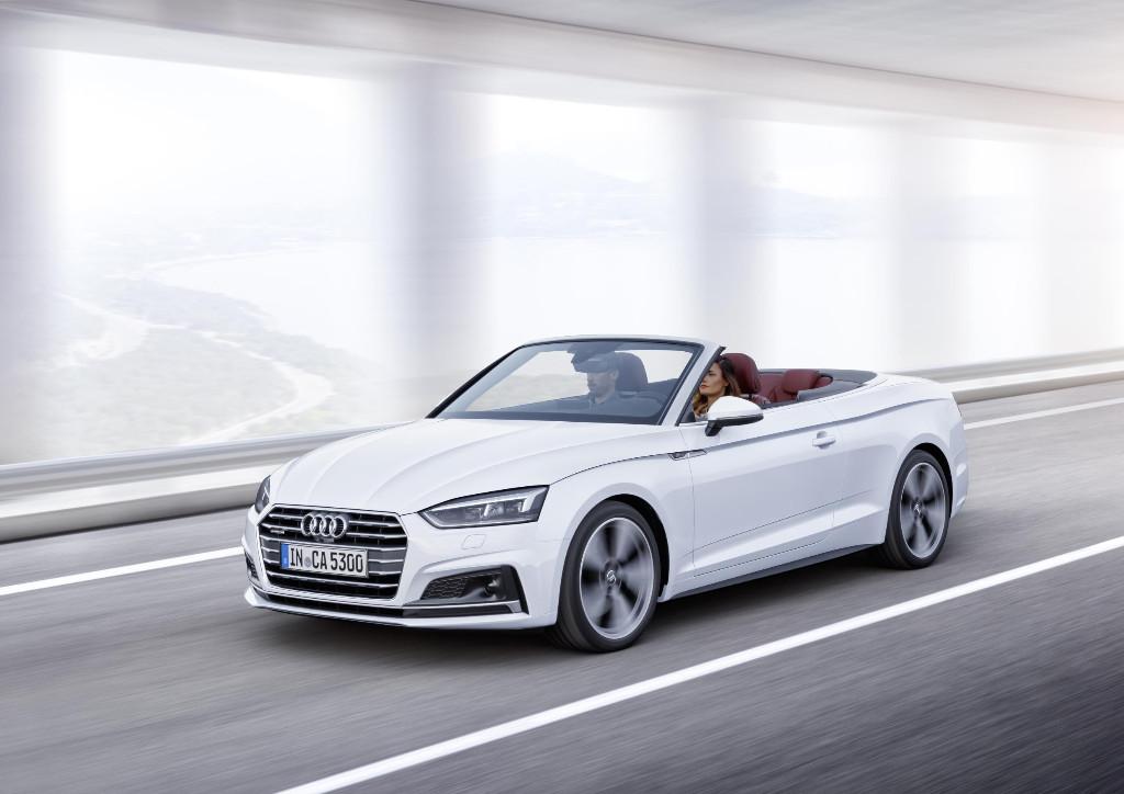 Audi A5 Cabrio 2017: desvelado antes de su presentación en Los Ángeles
