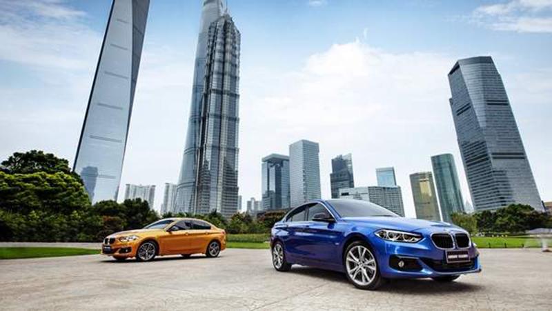 BMW Serie 1 Sedán 2017: China ya tiene su esperado sedán compacto