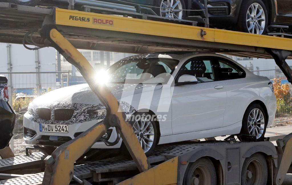 Primeras imágenes del BMW Serie 2 Coupe 2018