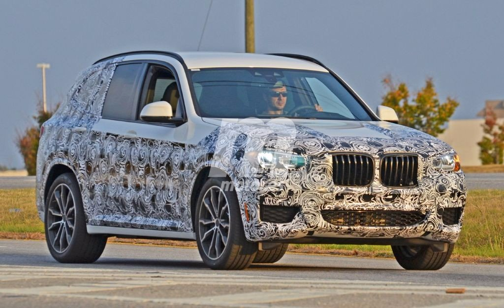 BMW X3 2017: la nueva generación del SUV sigue en desarrollo y pierde más camuflaje
