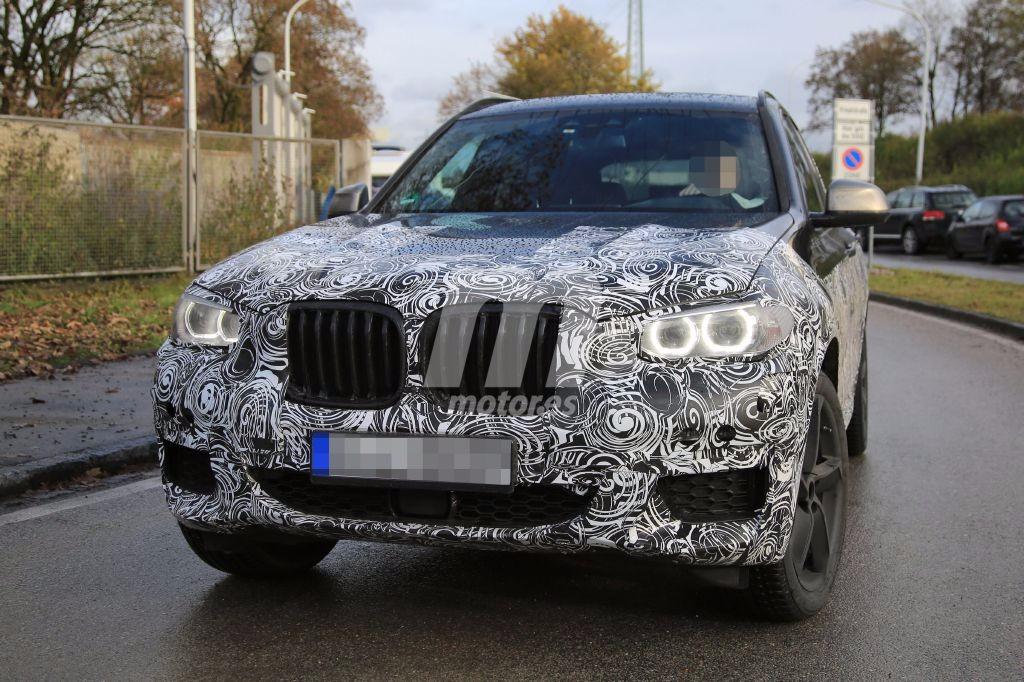 BMW X3 2017 cazado con el acabado M Sport