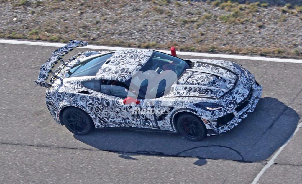 Chevrolet Corvette ZR1: Al fin al desnudo el 'Vette más potente de la historia