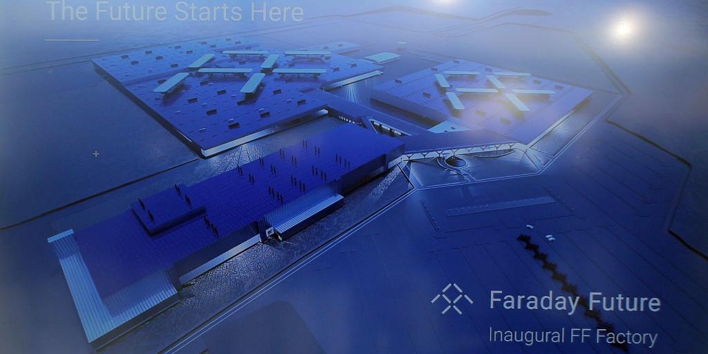 Faraday Future: Paralizada la construcción de su factoría y nueva fuga de cerebros