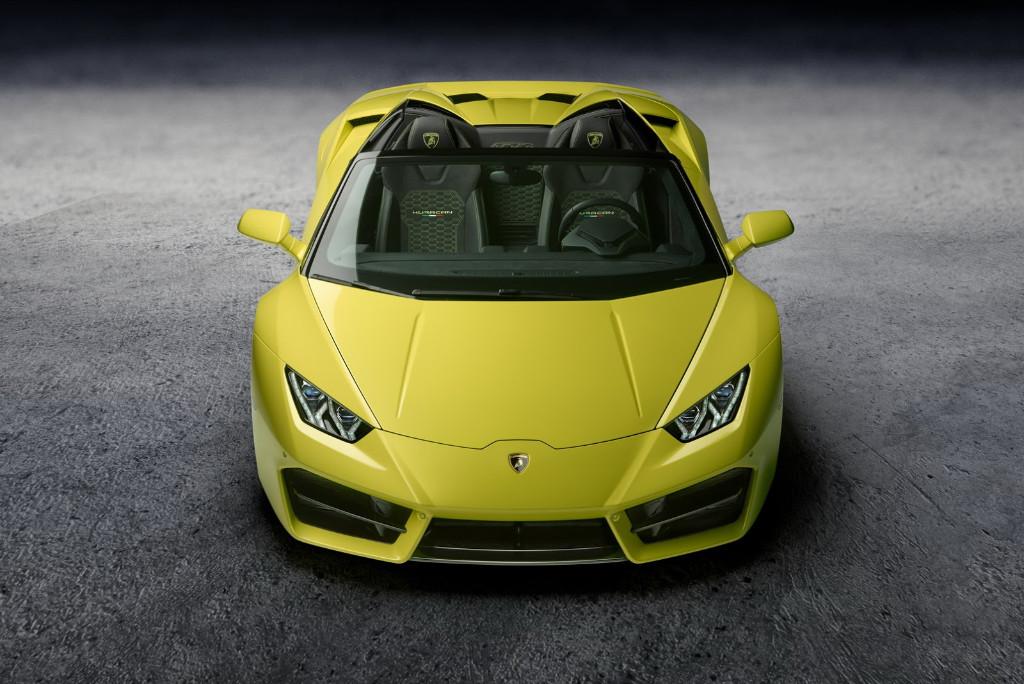 Lamborghini presenta el Huracan Spyder LP580-2, tracción trasera a cielo abierto