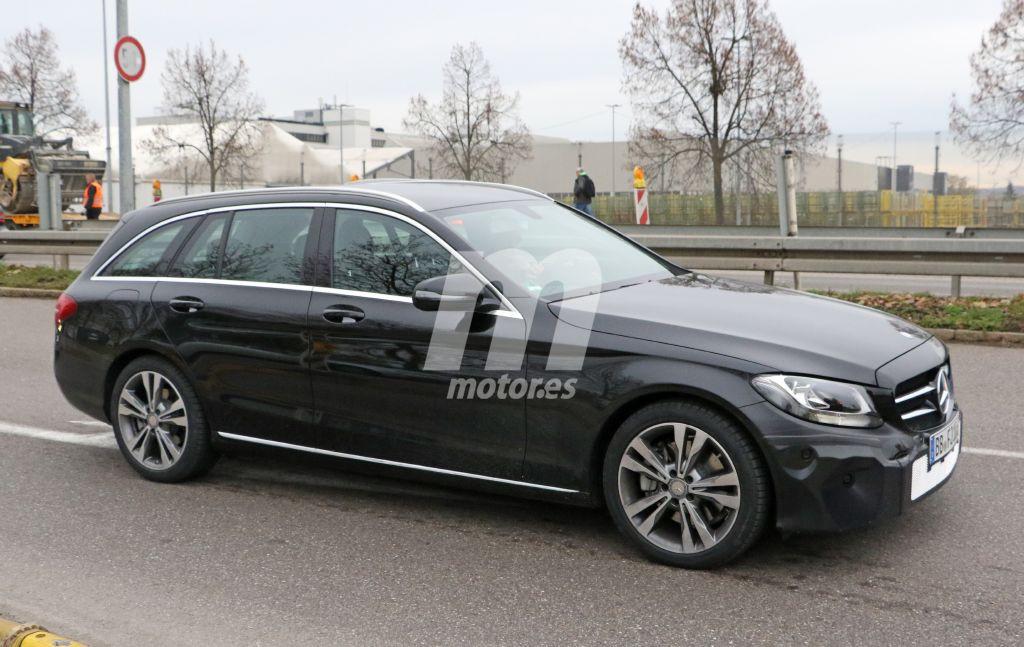 Mercedes Clase C 2018: Primeras imágenes del interior y la versión Estate