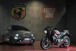 Abarth presenta el 695 Tributo XSR concept inspirado en una nueva Yamaha