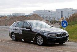 BMW Serie 5 Touring 2017: la versión familiar sigue perdiendo camuflaje