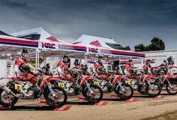 Ganar el Dakar, objetivo del Monster Energy Honda Team