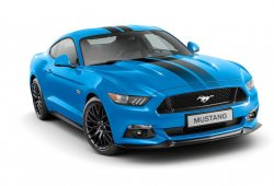 Ford Mustang Black Shadow y Blue Edition: exclusivos para Europa